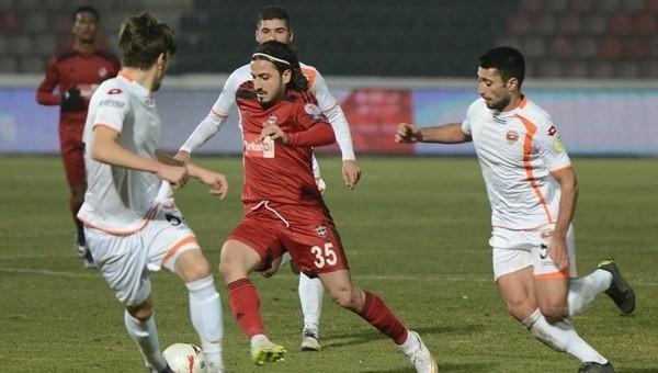 Gaziantepspor: 1 - 1 Adanaspor