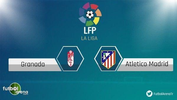 Granada - Atletico Madrid maçı saat kaçta, hangi kanalda?