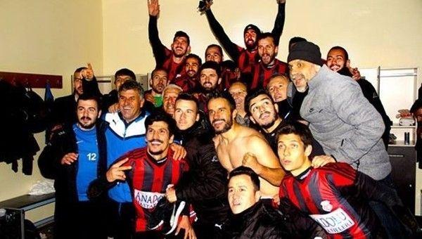 Kastamonuspor'da Galatasaray sevinci