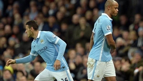 Manchester City'ye Kompany'den kötü haber