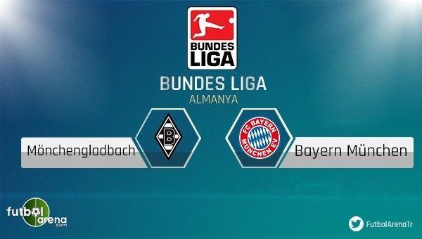 M'Gladbach - Bayern Münih maçı saat kaçta, hangi kanalda?