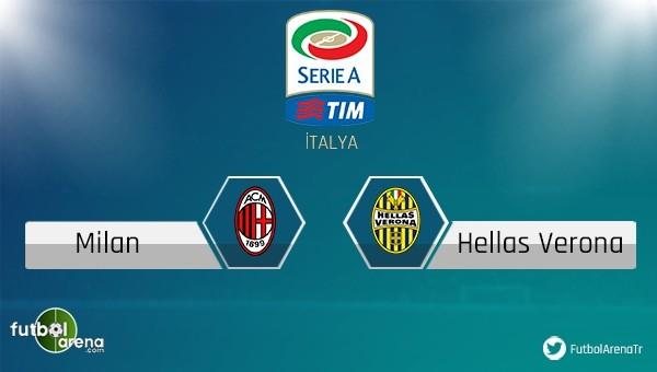 Milan - Verona maçı saat kaçta, hangi kanalda?