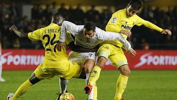 Real Madrid'e bir tekme de Villarreal'den