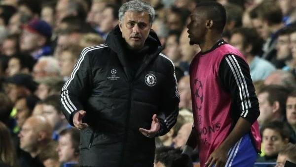 Samuel Eto'o'dan Mourinho'ya sürpriz telefon