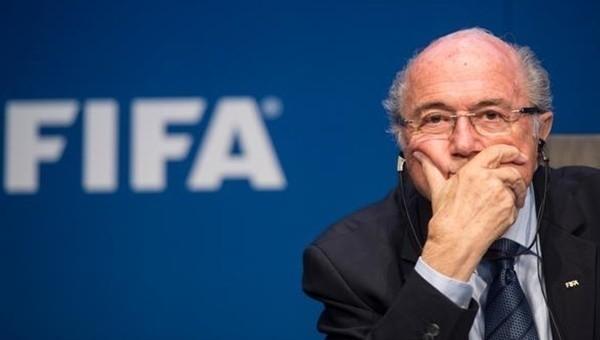 Sepp Blatter küstü