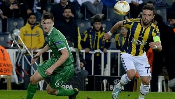 Gökhan Gönül haftanın futbolcusu seçildi