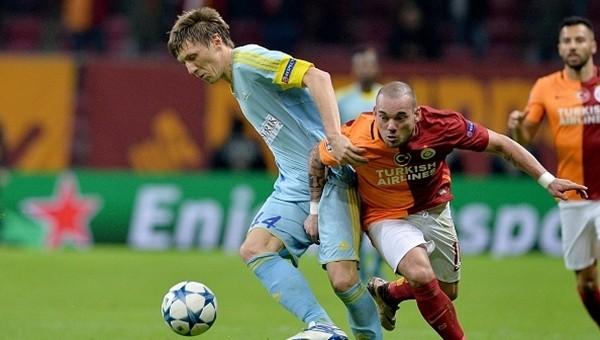 Wesley Sneijder: 'Beşiktaş derbisinde daha iyi oynamalıyız'