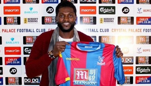 Adebayor, Crystal Palace'ı tanımadı