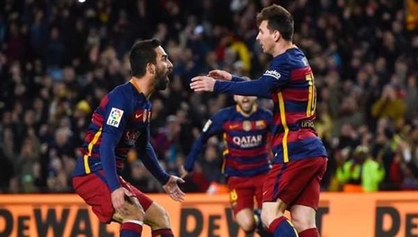 Arda Turan'dan Messi paylaşımı