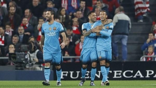 Barcelona avantajı kaptı!