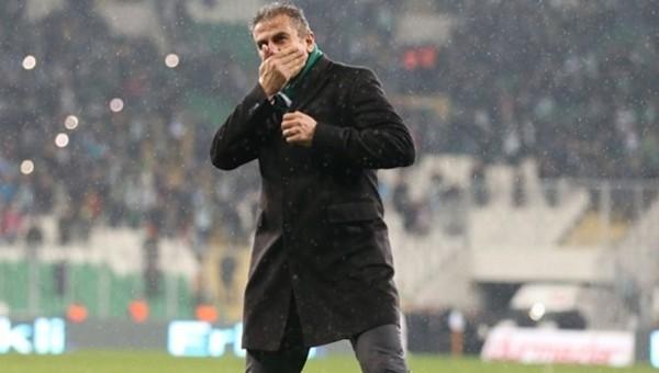 Bursaspor, Hamza Hamzaoğlu ile coştu