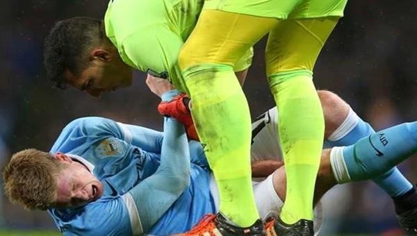 Manchester City'de Kevin de Bruyne şoku