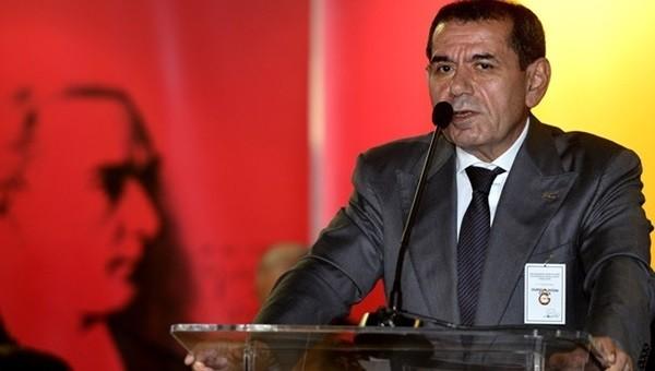 Dursun Özbek'ten Galatasaray'a müjde