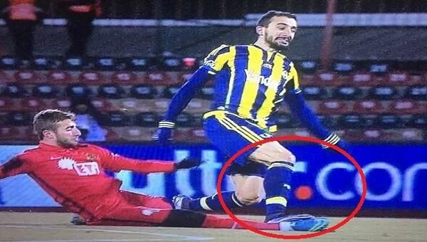 Fenerbahçe maçında kırmızı kart isyanı