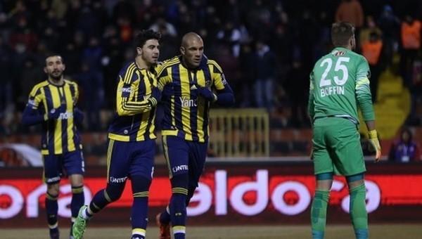 Fernandao, Eskişehirspor maçına damga vurdu