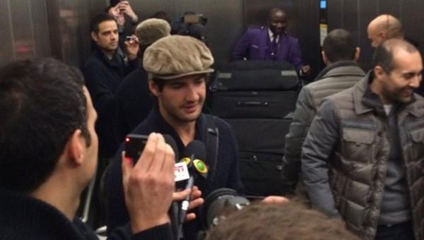 Galatasaray ile adı anılan Pato, Londra'ya ulaştı