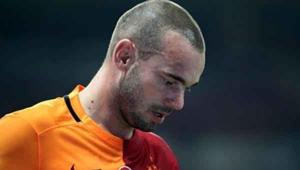 Galatasaray'da Sneijder endişesi! Gidecek mi?