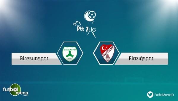 Giresunspor - Elazığspor maçı ne zaman?