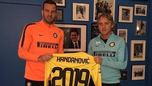 Handanovic 2019'a kadar Inter'de