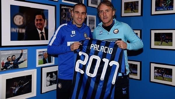 Inter, Palacio ile uzattı