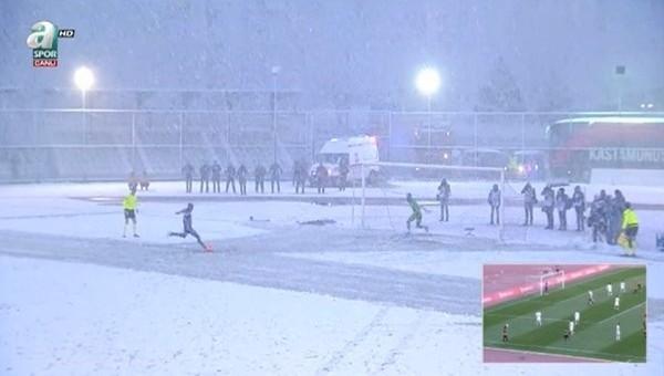 Kastamonuspor - Kasımpaşa maçı bu zeminde oynanmıştı