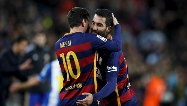 Lionel Messi'den Arda Turan'a büyük övgü