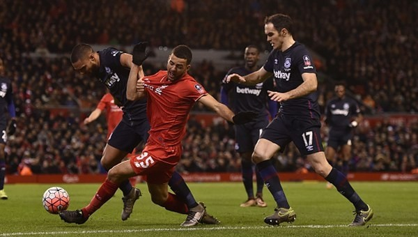 Liverpool ile West Ham United yenişemedi