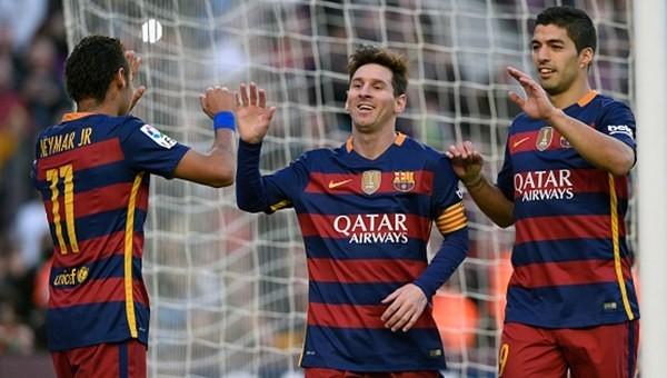 Messi şov yaptı Barcelona fark attı!