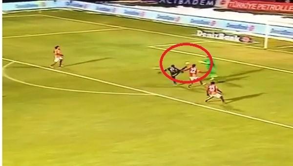 Muslera çıldırdı! Osmanlıspor'un 2. golü...