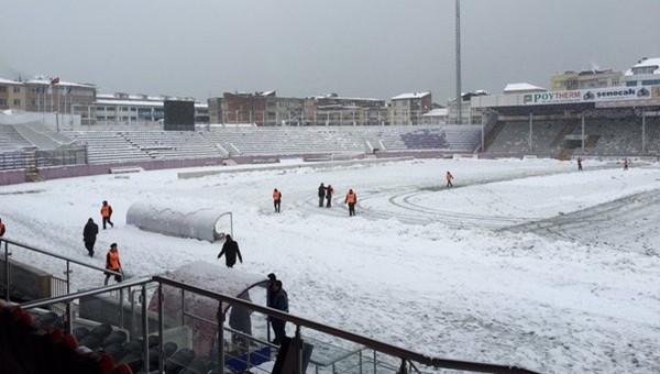 Orduspor'a kar engeli