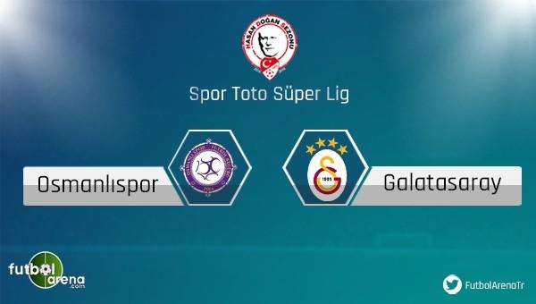 Osmanlıspor - Galatasaray maçı ne zaman?