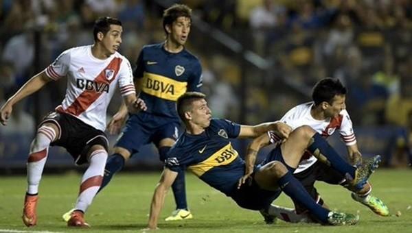 Superclasico'nun galibi River Plate!