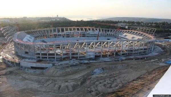 Adana'nın yeni incisi '' Koz Arena '' yükseliyor
