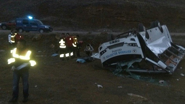 Adıyaman Belediyespor'un başına gelen talihsiz kaza