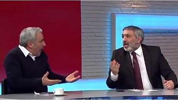 Adnan Aybaba stüdyoda havladı (Video)