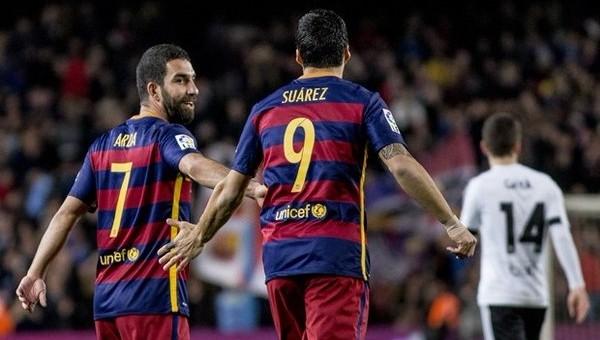 Ardalı Barcelona gol oldu, yağdı