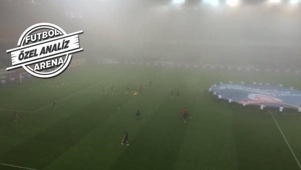 Beşiktaş - Mersin İdmanyurdu maçına sis engeli