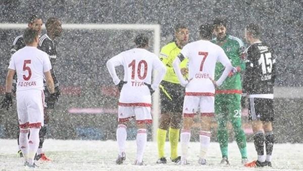İşte Beşiktaş - Mersin maçının başlangıç dakikası