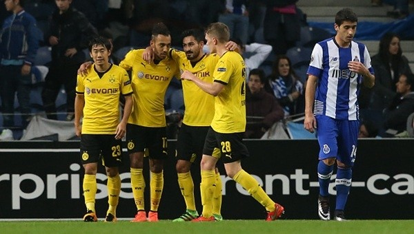 Borussia Dortmund, Porto'yu devirdi