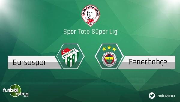 Fenerbahçe - Bursaspor rekabeti - Süper Lig Haberleri