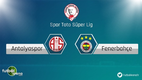 Fenerbahçe ile Antalyaspor 40. randevuda