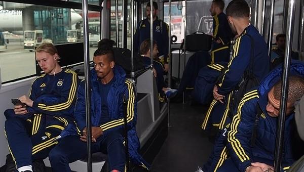 Fenerbahçe kafilesi Rusya'ya indi