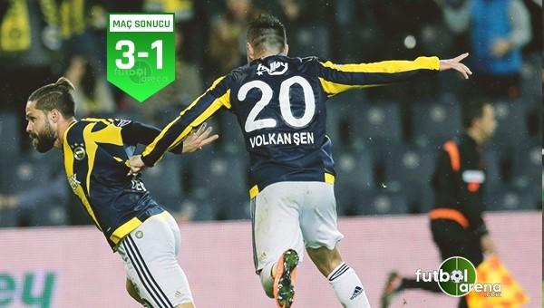Fenerbahçe 3-1 Kasımpaşa maçın özeti ve golleri