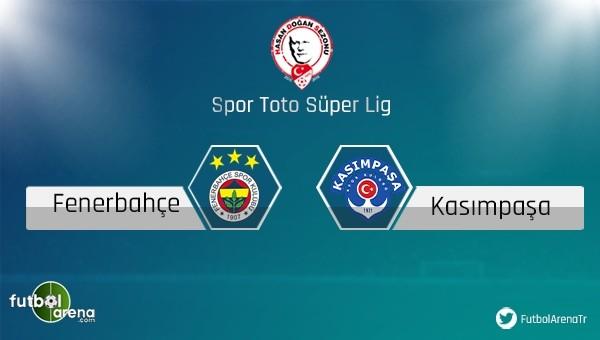 Fenerbahçe'nin ligde konuğu Kasımpaşa - Süper Lig Haberleri