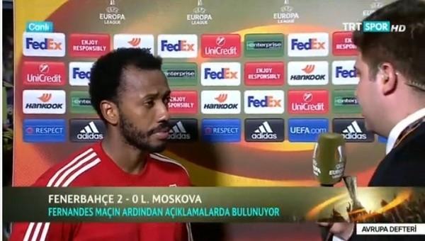 Fernandes Fenerbahçe maçı sonrası neler söyledi?