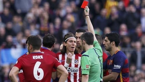 Filipe Luis'in cezasına indirim