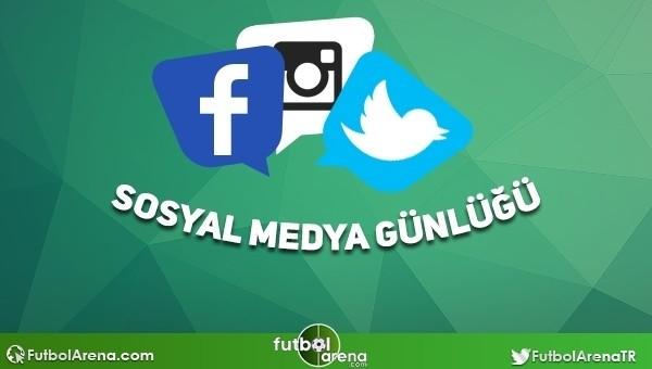 Futbolcuların sosyal medya paylaşımları - 15 Şubat 2016 (Cristiano Ronaldo, Gökhan Zan, Lukas Podolski)