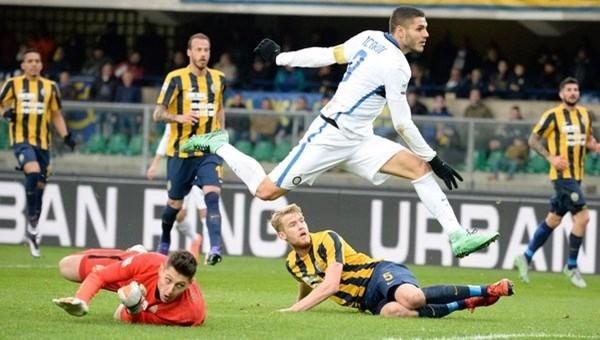 Inter gol yağmurunda Verona'yı geçemedi