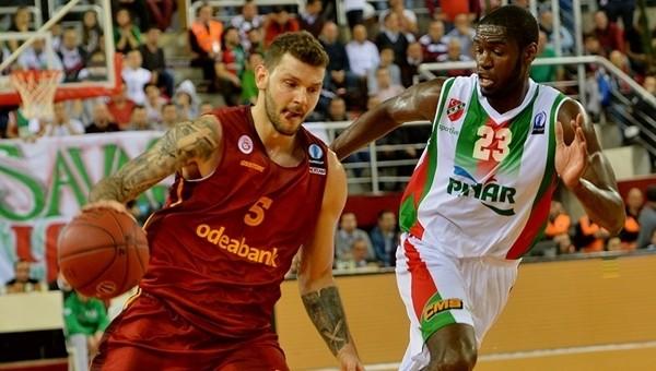 Karşıyaka, Galatasaray karşısında avantajı yakaladı - Avrupa Kupası Haberleri