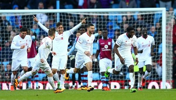 Liverpool, Aston Villa'yı dağıttı